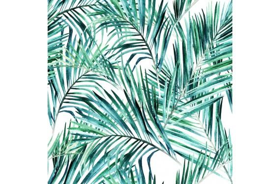 Palm leaf  dzianina