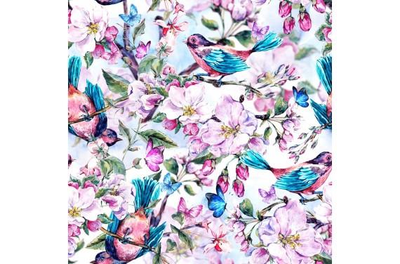 Blooming flower 1 dzianina