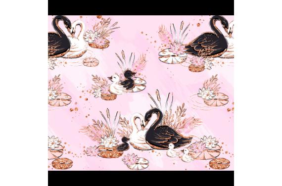 Swan 1 dzianina