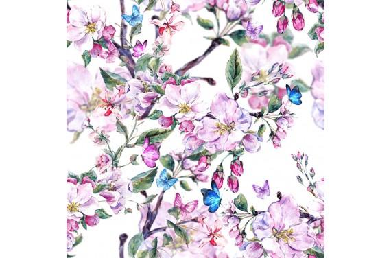 Blooming flower 2 рикотажные