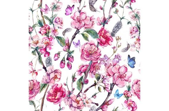 Blooming flower 3 dzianina