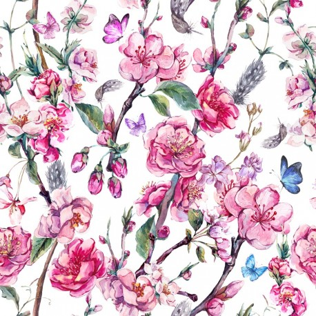 Blooming flower 3 knitwear