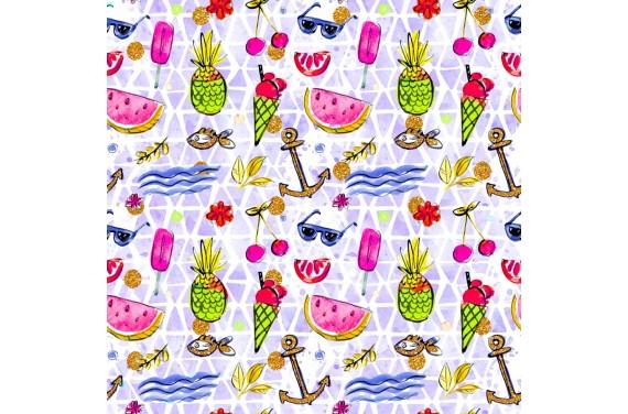 Summer beach 1 knitwear