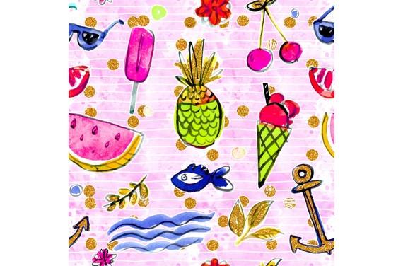 Summer beach 3 dzianina