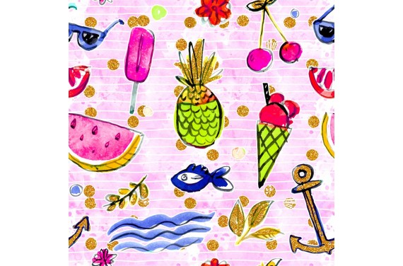 Summer beach 3 knitwear