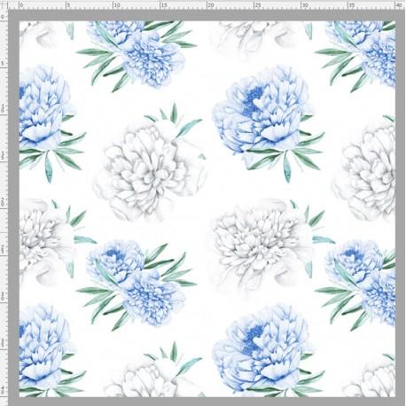 Blue peonies 2