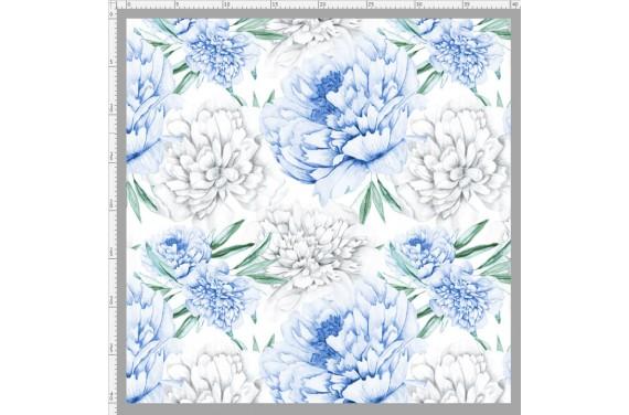 Blue peonies 1