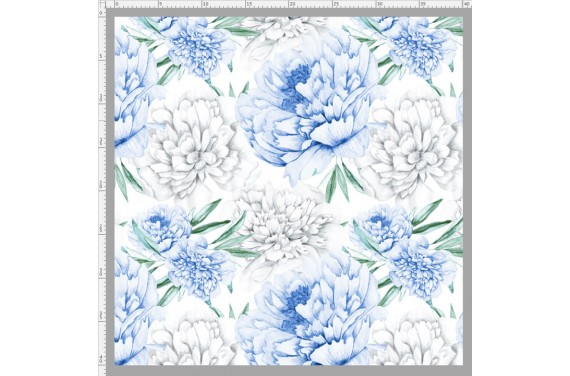 Blue peonies 1 knitwear