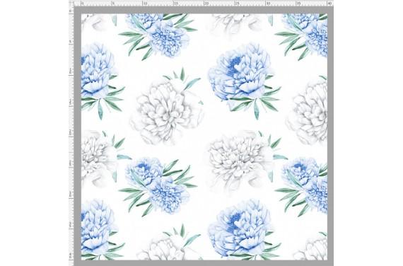 Blue peonies 2 knitwear