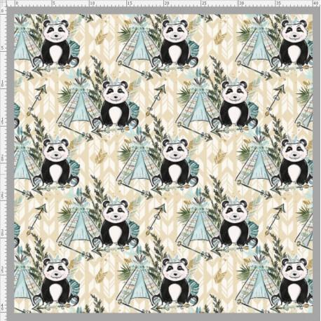 Boho panda 1