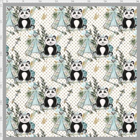 Boho panda 3