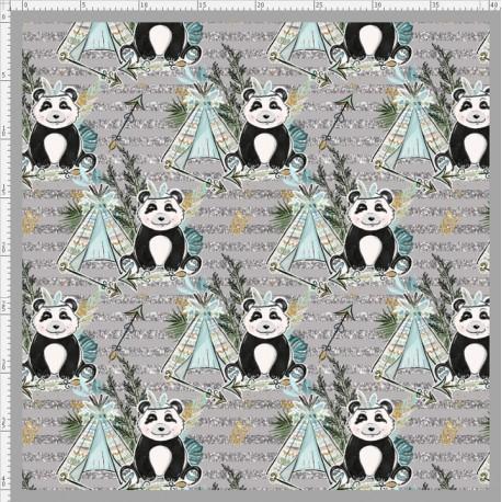 Boho panda 4