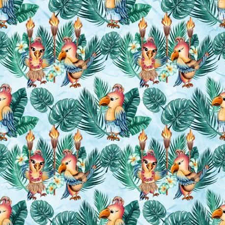 Hawaiian parrots 4