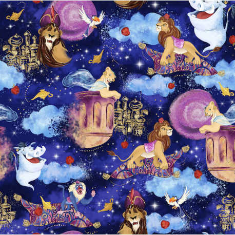 Lion in magical world 1