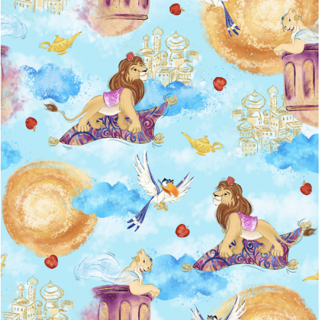 Lion in magical world 2