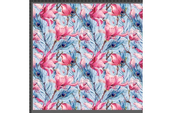 BLOOMING MAGNOLIA 2 fabric