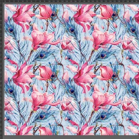 BLOOMING MAGNOLIA 2 fabric