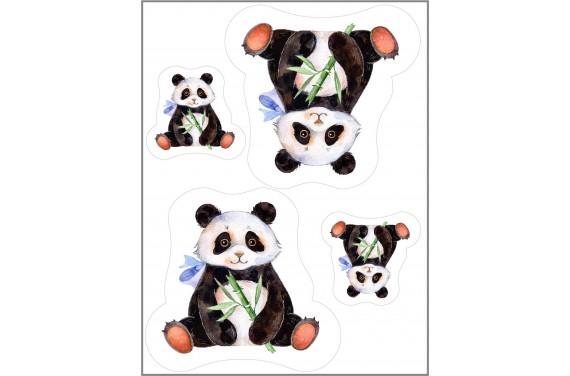 Maskottchen Pandabär