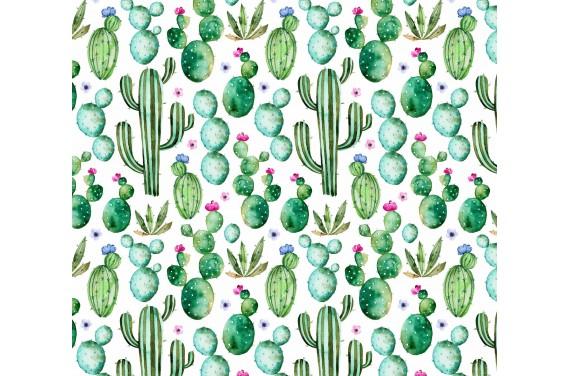 Kaktusy tkanina