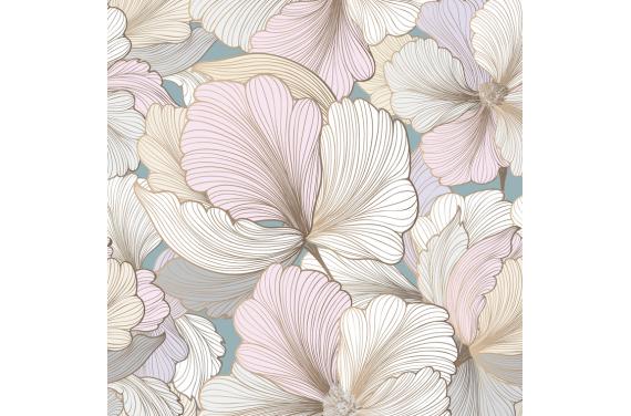Pastel flowers 1