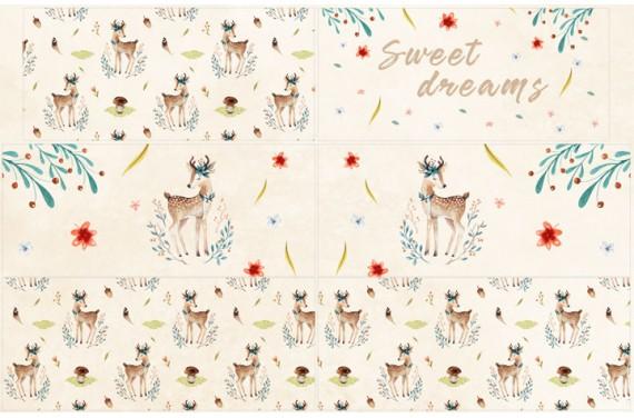 Защита на кроватку Autumn deer