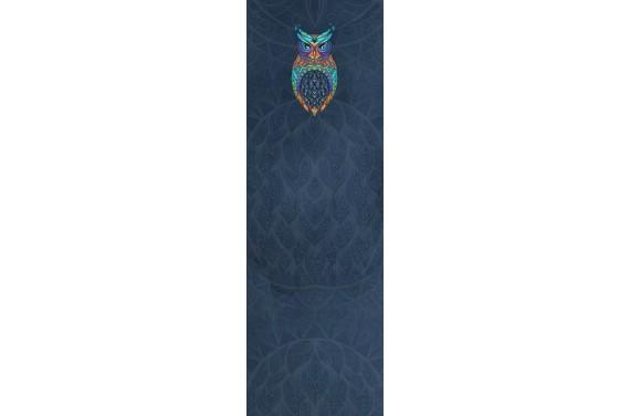 Colorful owl dark wkładka do wózka