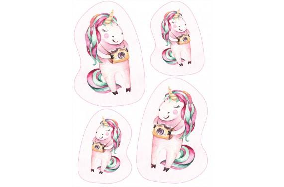 Maskottchen Sweet unicorn 5