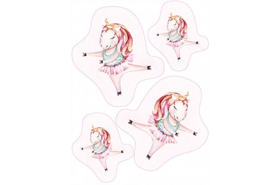 Maskottchen Sweet unicorn 6