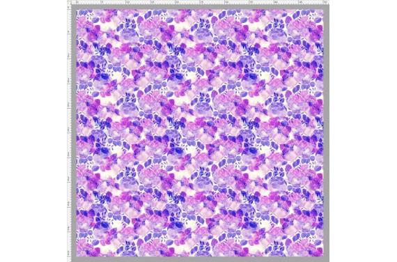 Violet peonies