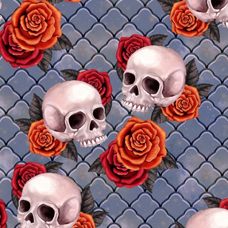 Candy skull 5