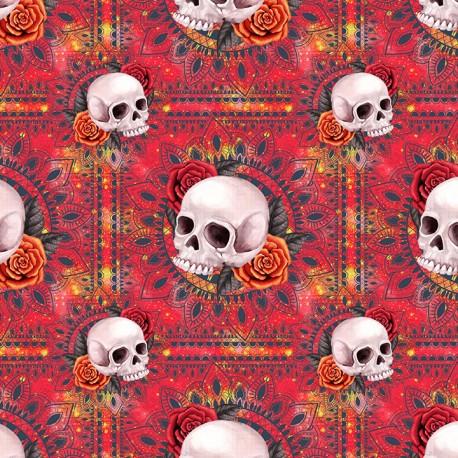 Candy skull 6