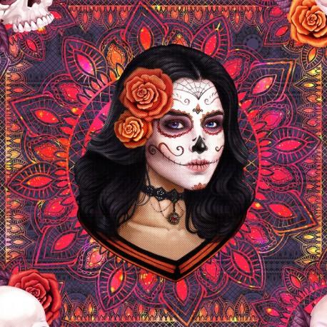 Candy skull 7