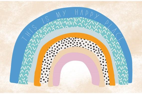 "Panel for mat ""Rainbows"""