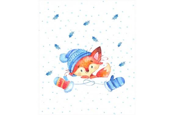 Winter friends Lisek 1