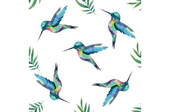 Kolibry tkanina