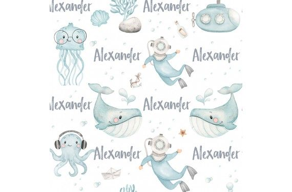 Under the sea boy -personalizowana