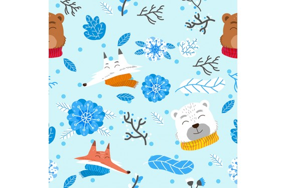 Winter animals 3