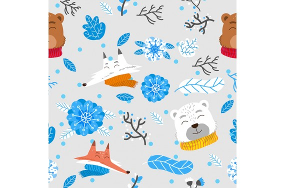 Winter animals 1