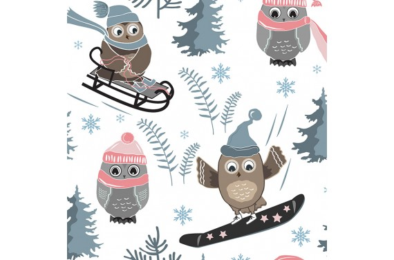 Winter owl 3